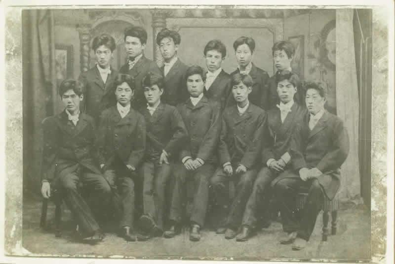 明治21年の学生(愛知医学校) | 写真